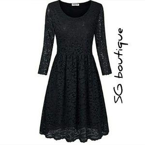 🆕⭐Black lace vintage style dress⭐